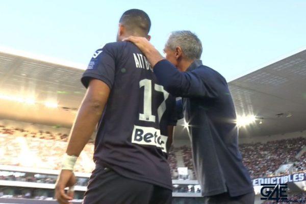 Paulo Sousa et Youssef Ait-Bennasser