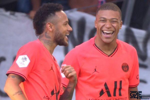 Neymar et Mbappé