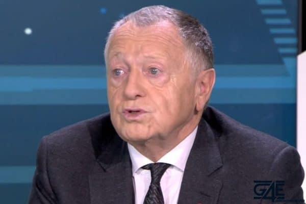 Jean-Michel Aulas remonté — Lyon