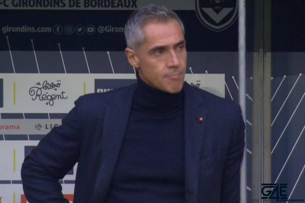 Paulo Sousa sur le départ — Bordeaux