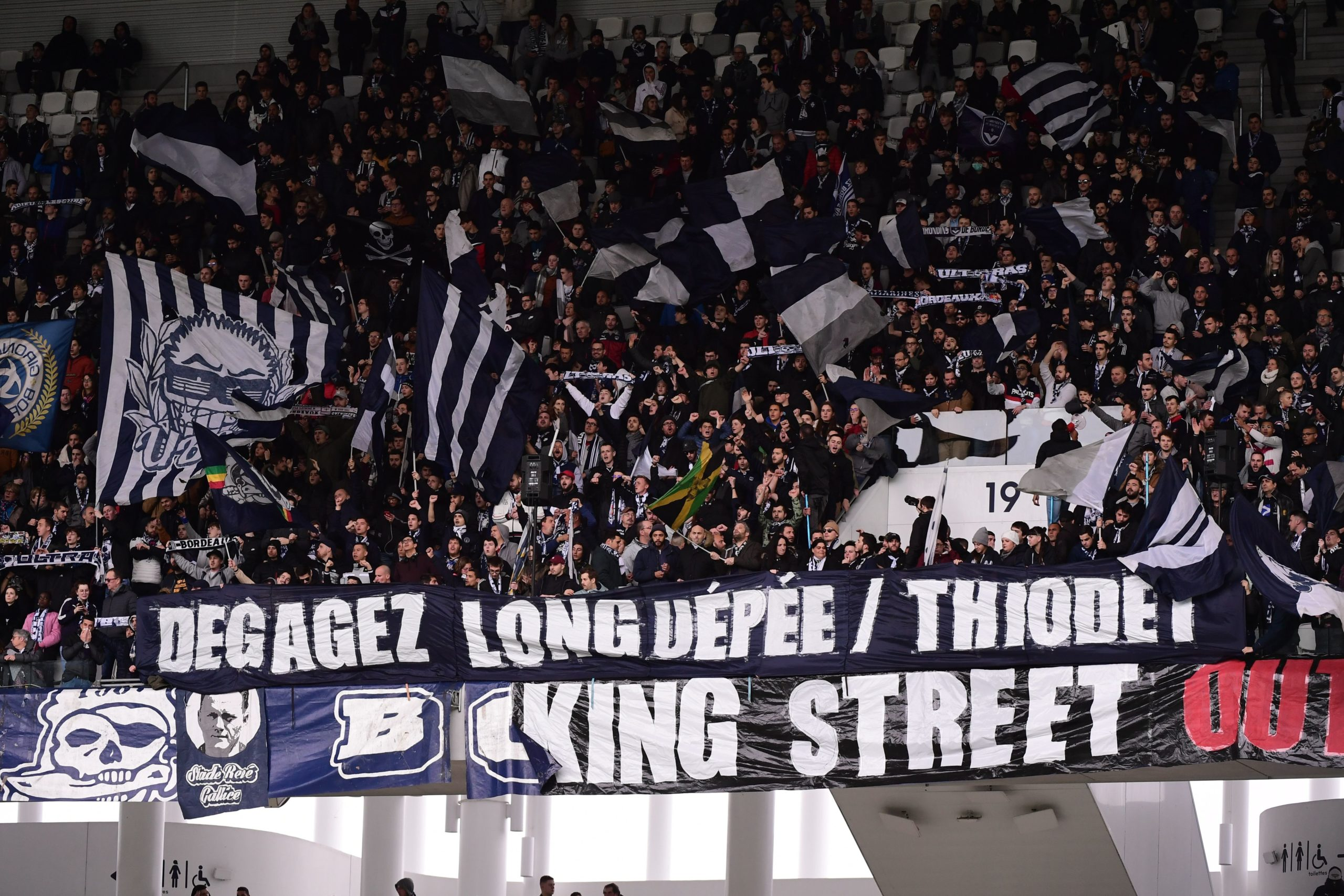 supporters longuepée thiodet king street ultras, ultramarines
