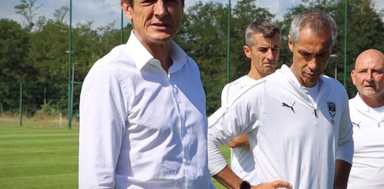 Frédéric Longuépée et Paulo Sousa